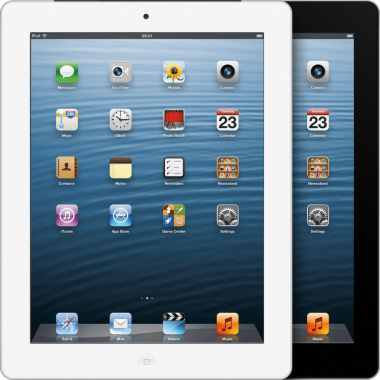 Apple iPad 4 16GB Silver - Kategorie A