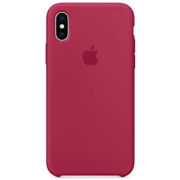 Apple iPhone X Silicone Case MQT82ZM/A - Rose Red