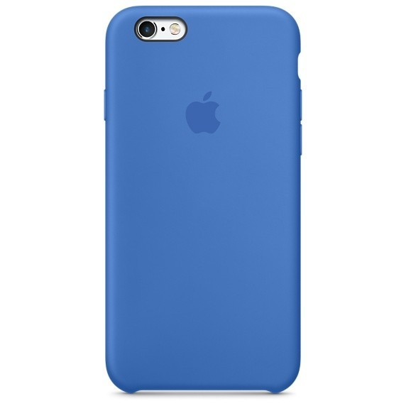 Apple iPhone 6/6S Silicone Case MKY62FE/A - Royal Blue