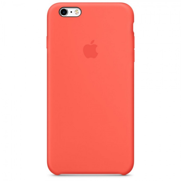 Apple iPhone 6/6S Silicone Case MKY62FE/A - Apricot