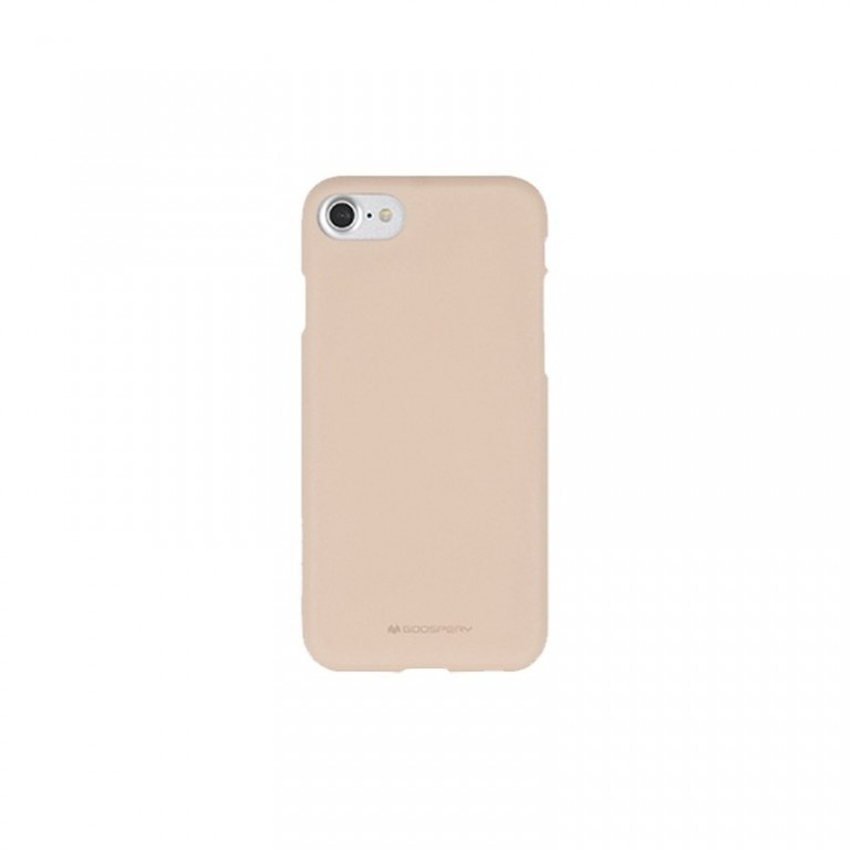 MERCURY GOOSPERY Soft Feeling Jelly Case pro iPhone 7/8 - Pink Sand