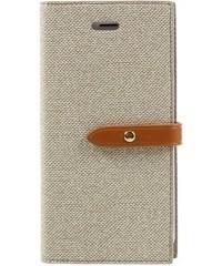 Pouzdro Mercury Milano diary pro iPhone 7/8 - béžové