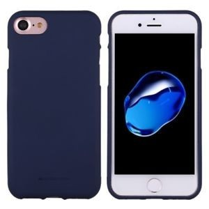 MERCURY GOOSPERY Soft Feeling Jelly Case pro iPhone 7/8- Dark Blue