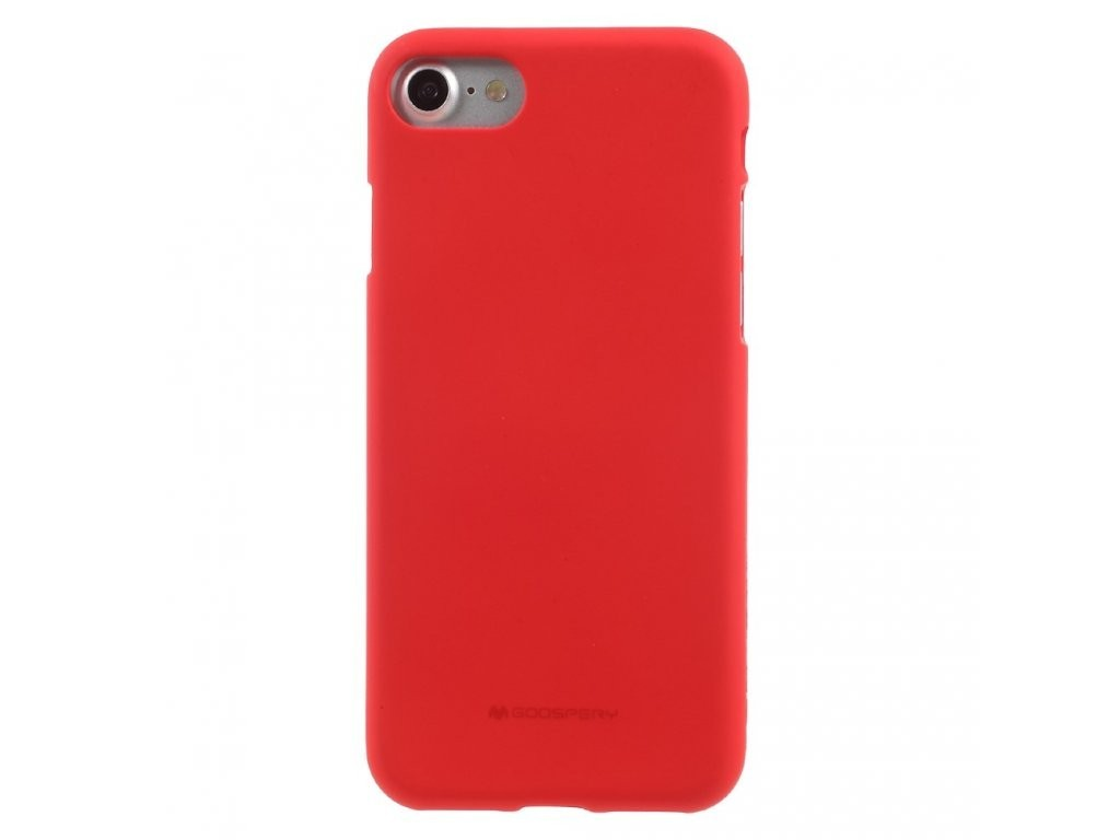 MERCURY GOOSPERY Soft Feeling Jelly Case pro iPhone 6/6S - Red