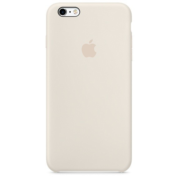 Apple iPhone 6/6S Plus silicone case MLD22BZ/A - Anticue White