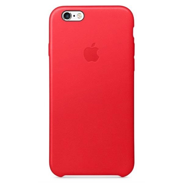 Apple iPhone 6 6S Plus silicone case MKXM2ZM A - RED č.1 553d5b29008