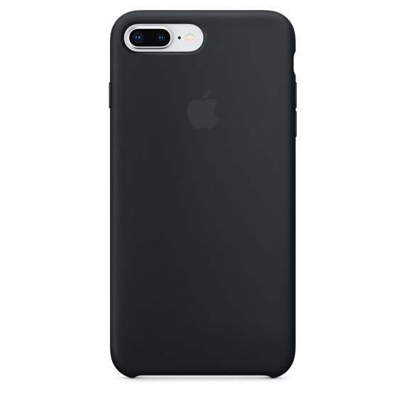 Apple iPhone 7/8 Plus Silicone Case MMQU2FE/A - Black