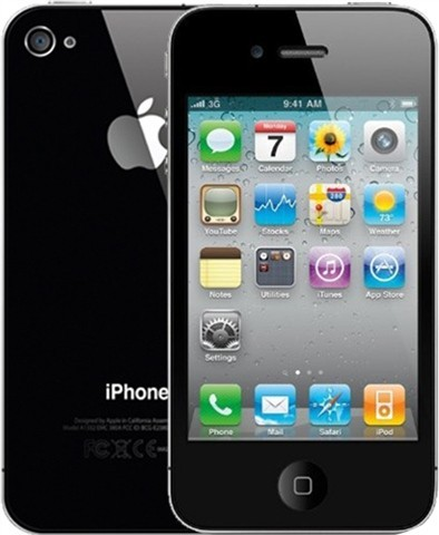 Apple iPhone 4 16GB Black - Kategorie A