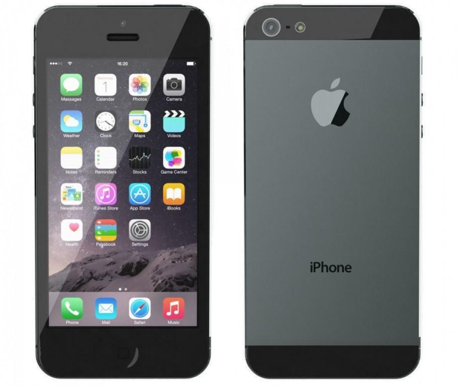 Apple iPhone 5 64GB Black - Kategorie B