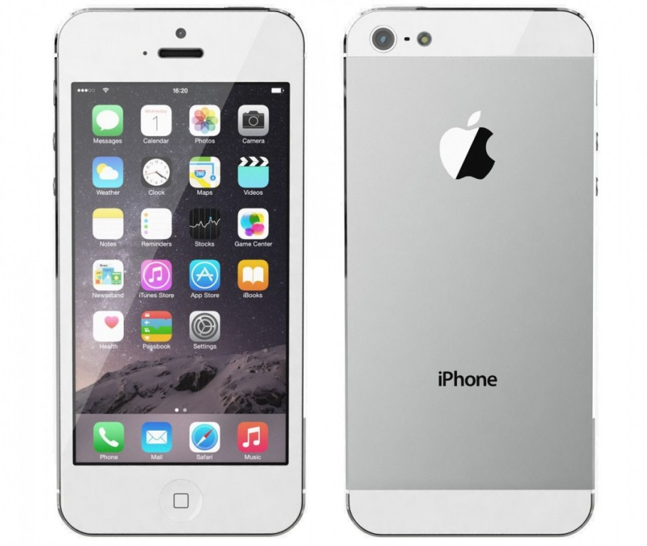 Apple iPhone 5 64GB White - Kategorie A+