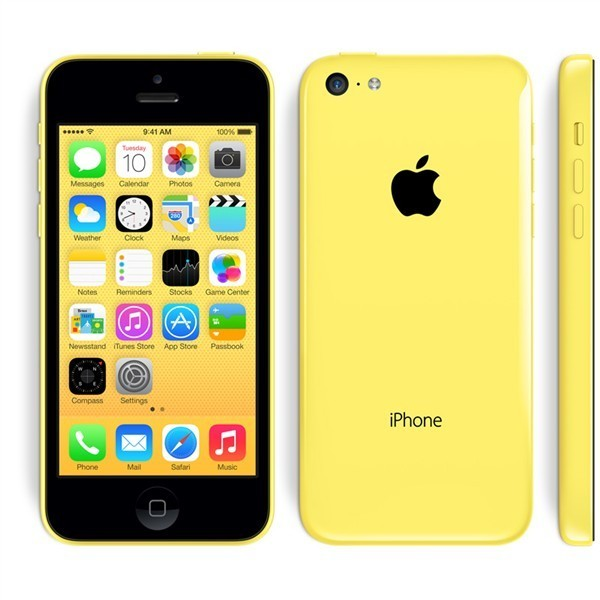 Apple iPhone 5C 16GB Žlutý - Kategorie B