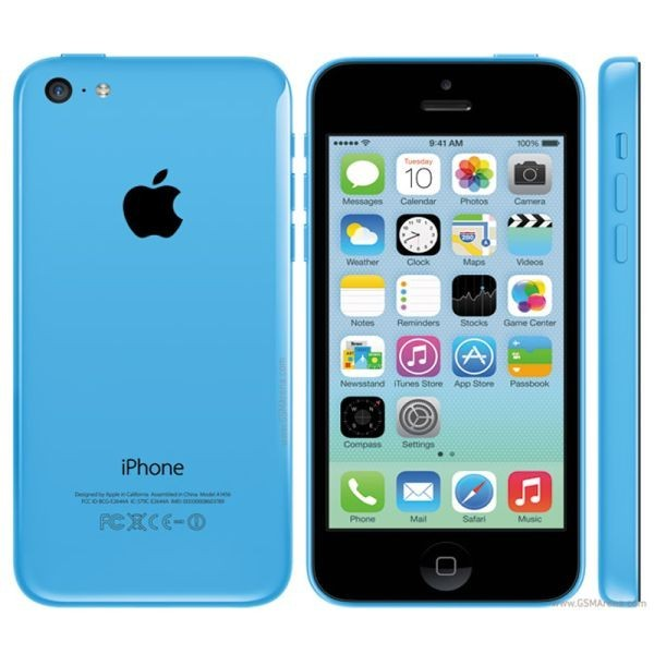 Apple iPhone 5C 16GB Modrý - Kategorie B