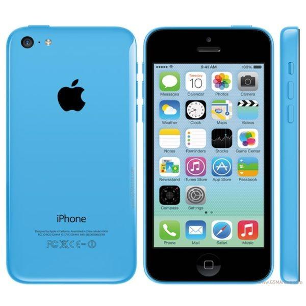 Apple iPhone 5C 32GB Modrý - Kategorie B