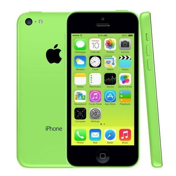 Apple iPhone 5C 16GB Zelený - Kategorie A