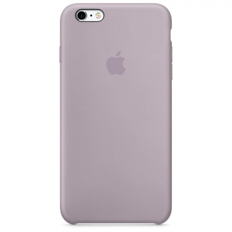 Originální Silikonové pouzdro Apple iPhone 6/6S Levander