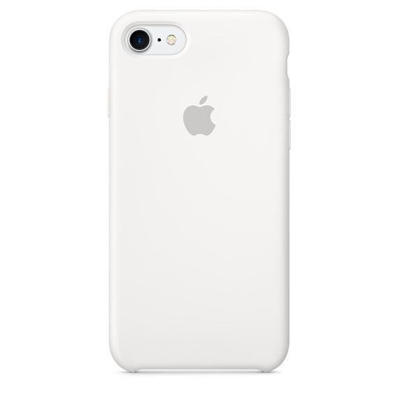 Apple silikonové pouzdro pro iPhone 7/8 - White