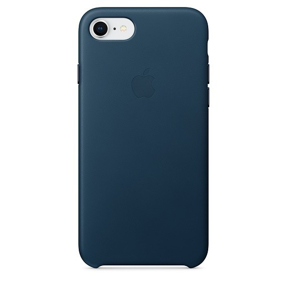 Apple iPhone 7/8 Leather Case Cosmos Blue MQHF2ZM/A