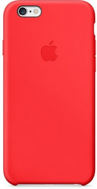 Apple iPhone 6 6S Silicone Case MKY62FE A - Red 56f54c00001