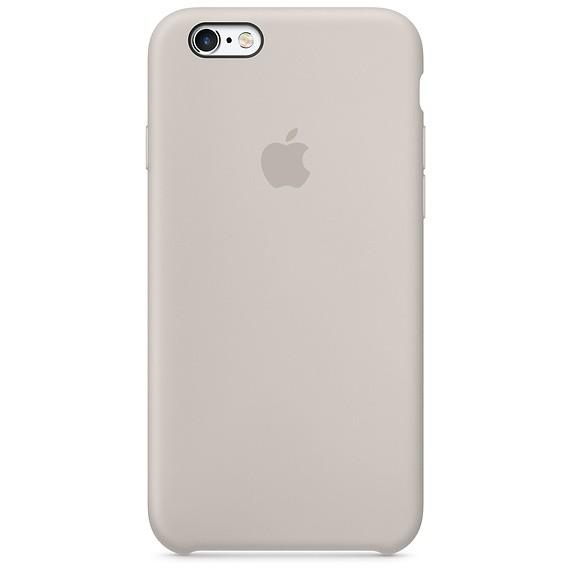 Apple silikonové pouzdro pro iPhone 6 6S - Stone  Kámen e3ac5cd12b3