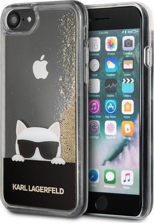 Karl Lagerfeld Choupette Sunglass pouzdro pro iPhone 7/8 zlaté