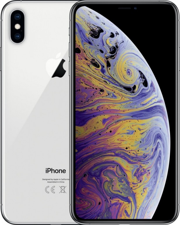 Apple iPhone XS, 64GB, stříbrný