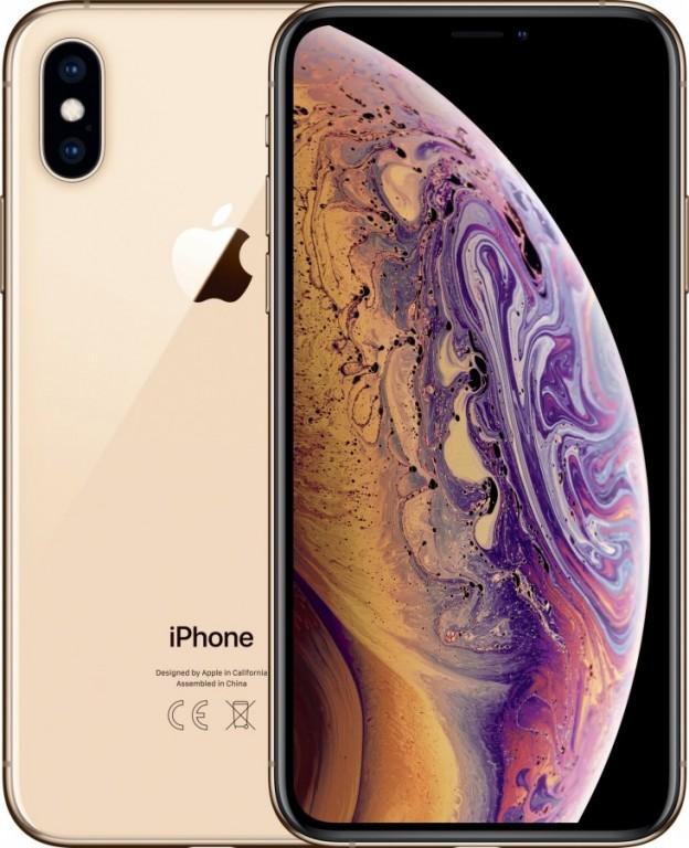 Apple iPhone XS 256GB Gold + ZDARMA bezdrátová nabíječka