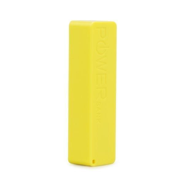Mobile Power Bank 2600 mAh - Yellow