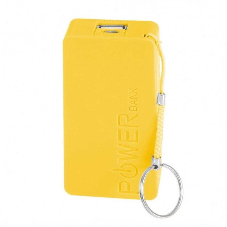 Mobile Power Bank 5600 mAh - Yellow