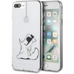 Karl Lagerfeld pouzdro iPhone 7/8 Plus čiré