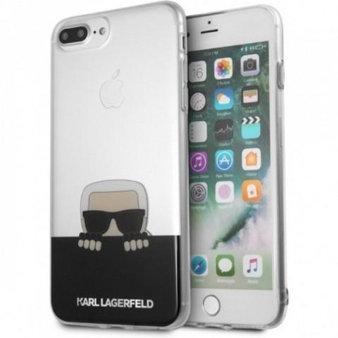 Karl Lagerfeld FlexiBle PU pouzdro iPhone 7/8 Plus černé