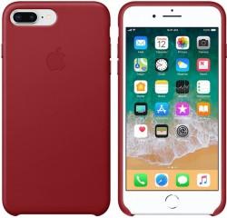 Apple kožené pouzdro pro iPhone 7/8 Plus - Red/ Červená