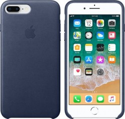 Apple iPhone 7/8 Plus Leather Case MQHL2ZM/A - Midnight Blue