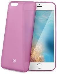 Ultra tenké TPU pouzdro CELLY Frost pro Apple iPhone 7, 0,29 mm, růžové