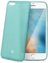Ultra tenké TPU pouzdro CELLY Frost pro Apple iPhone 7/8, 0,29 mm, tyrkysové