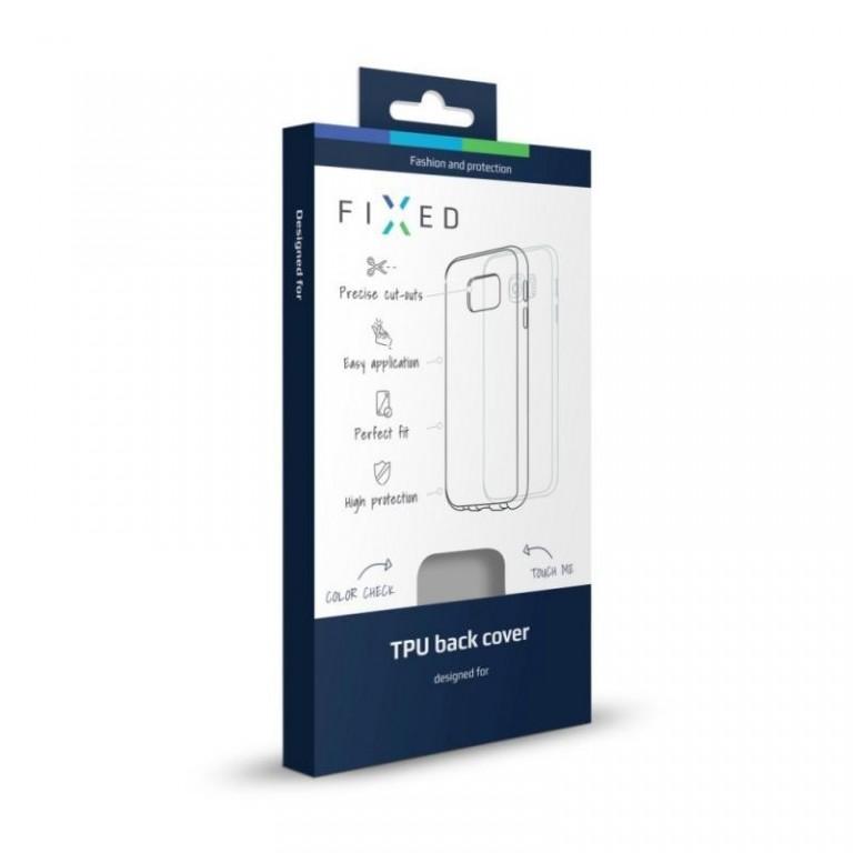 TPU gelové pouzdro FIXED pro Apple iPhone 6/6S, kouřové