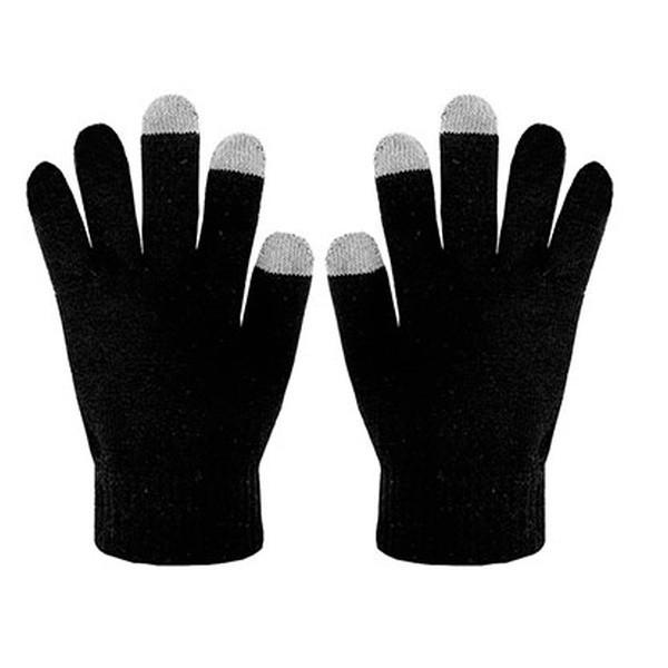 Zimní rukavice CELLY Touch Gloves - Černý - velikost M/L