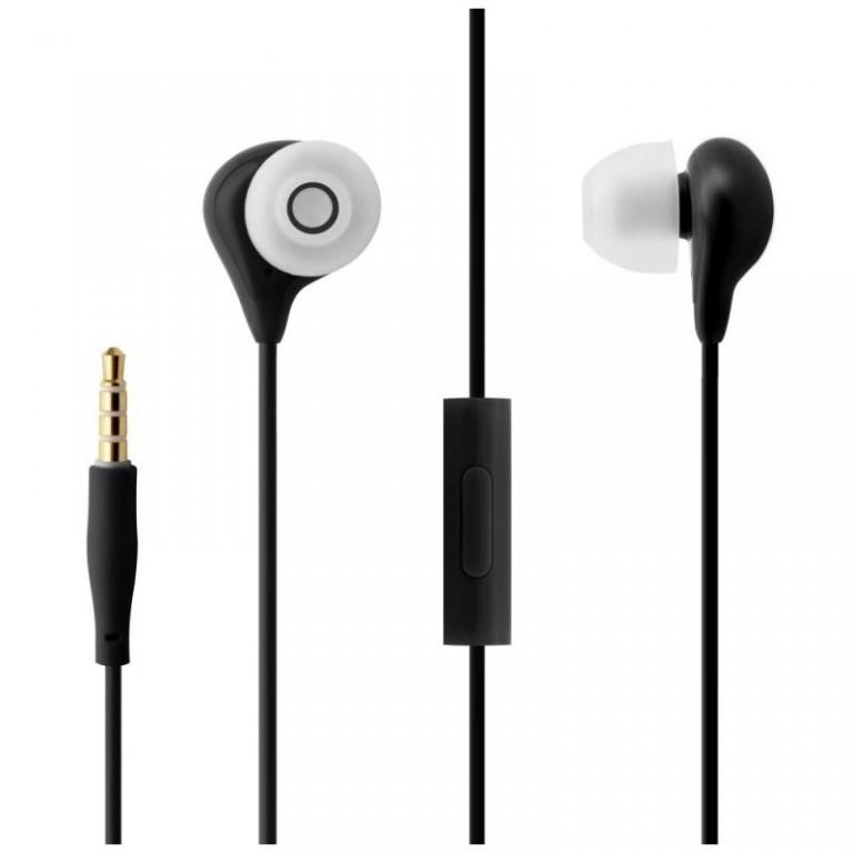 In-ear sluchátka s mikrofonem FIXED EGG1, černá