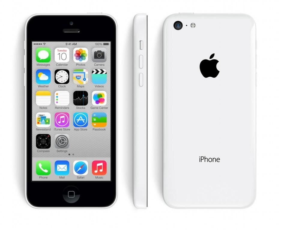 Apple iPhone 5C 8GB Bílý