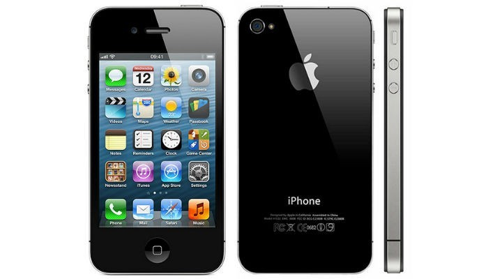 Apple iPhone 4 8GB Black - Kategorie A