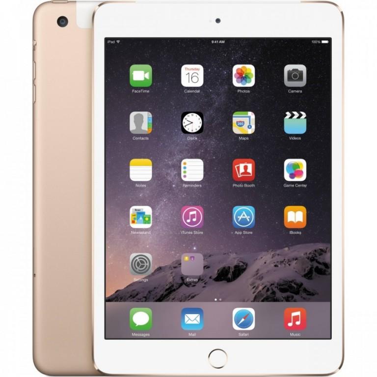Apple iPad Mini 3 16GB Cellular Gold