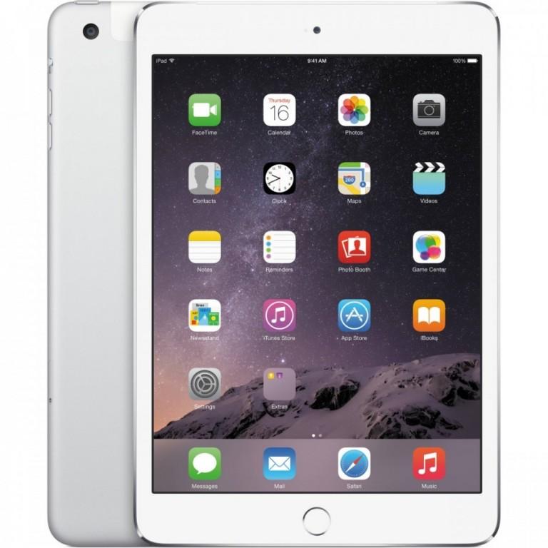 Apple iPad Mini 3 16GB Cellular Silver