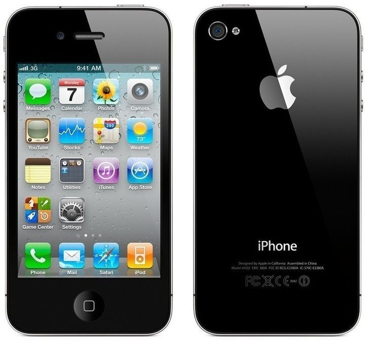 Apple iPhone 4S 16GB Black - Kategorie A