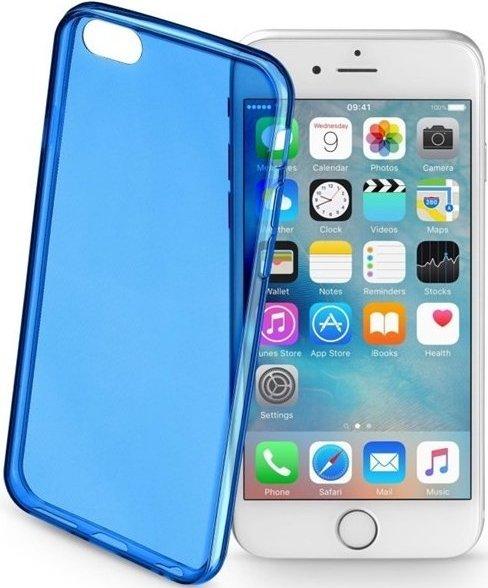 Barevné gelové pouzdro CELLULARLINE COLOR pro Apple iPhone 6/6S - Modré