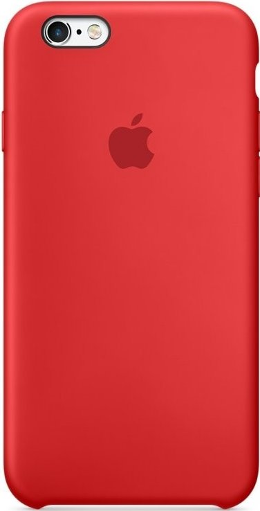 Apple iPhone 6/6S Silicone Case MGQH2ZM/A- Red