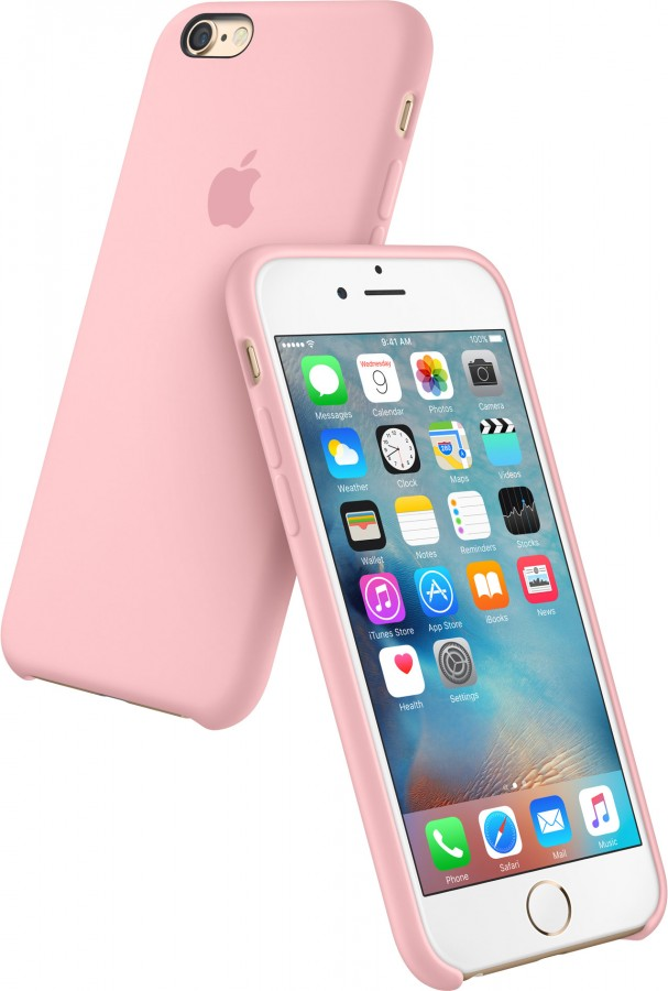 apple iphone 6 silicone case mgxt2zm a pink quikset. Black Bedroom Furniture Sets. Home Design Ideas