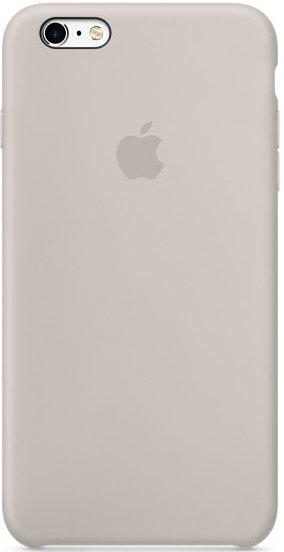 Apple iPhone 6/6S Plus silicone case MKXN2ZM/A - Stone