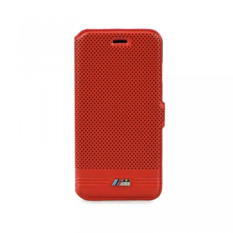 Flipové pouzdro BMW M Adrenaline pro iPhone 6/6S červené