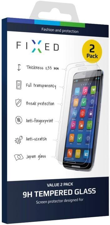 2KS - Ochranné tvrzené sklo FIXED pro Apple iPhone 6/6s, 0.33mm