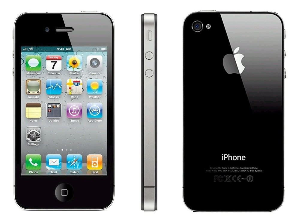 Apple iPhone 4S 64GB Black - Kategorie B