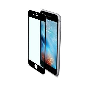 Ochranné tvrzené sklo CELLY Glass pro Apple iPhone 6/6s/7, ČERNÉ (sklo do hran displeje, anti blue-ray)